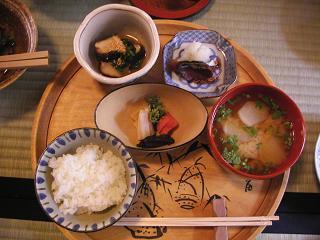 美山荘 朝食ALL.JPG