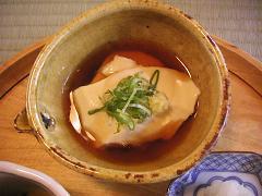 美山荘 朝食おぼろ豆腐.JPG